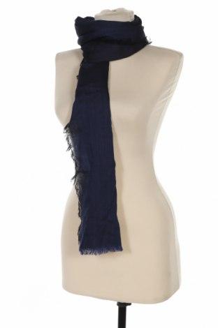 Šála Lanvin, Barva Modrá, 50% bavlna, 25% vlna, 25% hedvábí, Cena  1578,00Kč