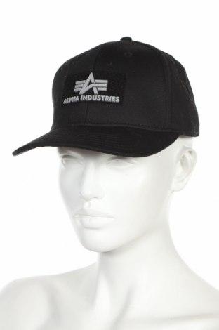 Căciulă Alpha Industries, Culoare Negru, Bumbac, Preț 194,08 Lei