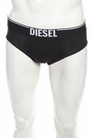 Slipy Diesel, Rozmiar XS, Kolor Czarny, 94% bawełna, 6% elastyna, Cena 88,00zł