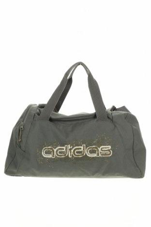 Τσάντα ταξιδίου Adidas, Χρώμα Πράσινο, Κλωστοϋφαντουργικά προϊόντα, Τιμή 33,41€