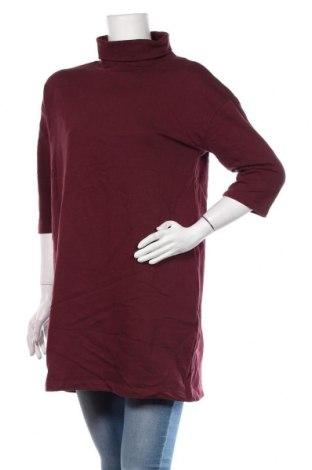 Tunică Clockhouse, Mărime XL, Culoare Roșu, 90% bumbac, 10% poliester, Preț 89,53 Lei