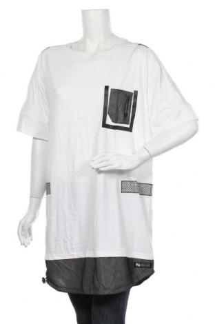 Туника Sneaker Freak, Размер XL, Цвят Бял, Памук, Цена 34,50лв.