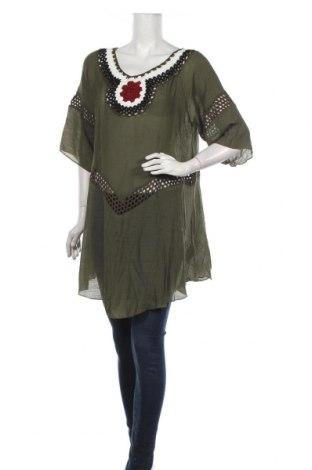 Tunică Usha, Mărime XL, Culoare Verde, Poliester, Preț 170,23 Lei