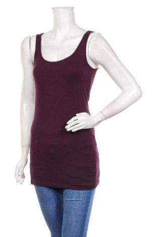 Туника Vero Moda, Размер S, Цвят Лилав, 93% памук, 7% еластан, Цена 21,75лв.