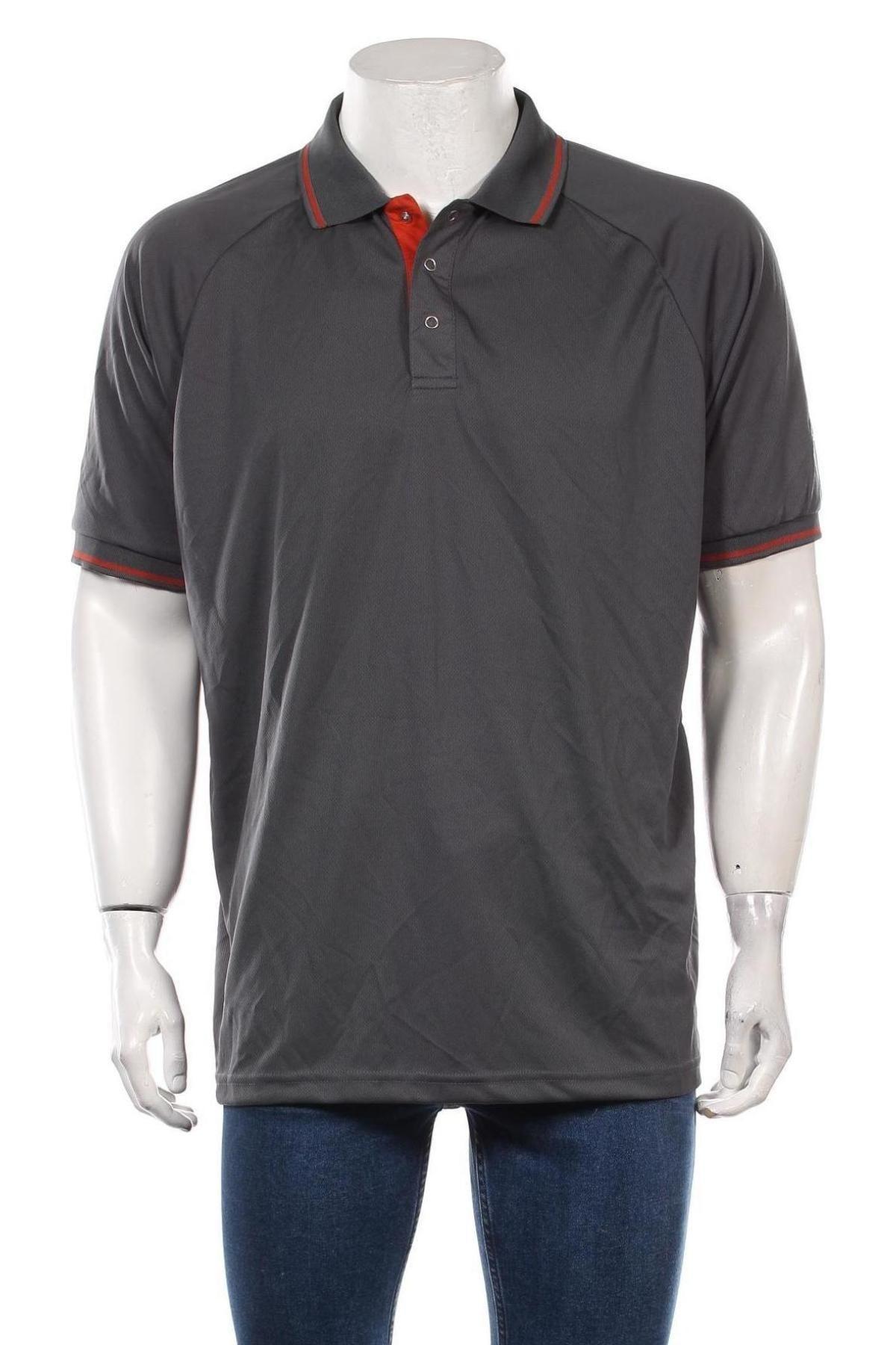 Мъжка тениска Trespass, Размер XXL, Цвят Сив, Полиестер, Цена 27,00лв.