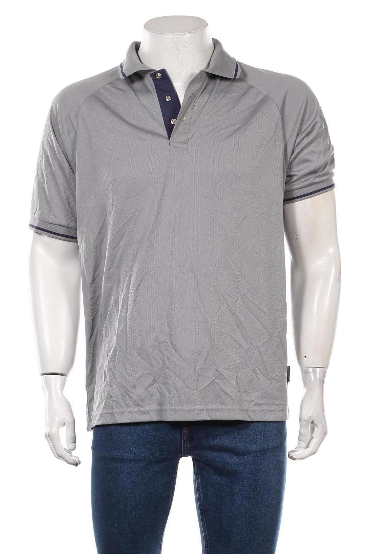 Мъжка тениска Trespass, Размер L, Цвят Сив, Полиестер, Цена 25,20лв.
