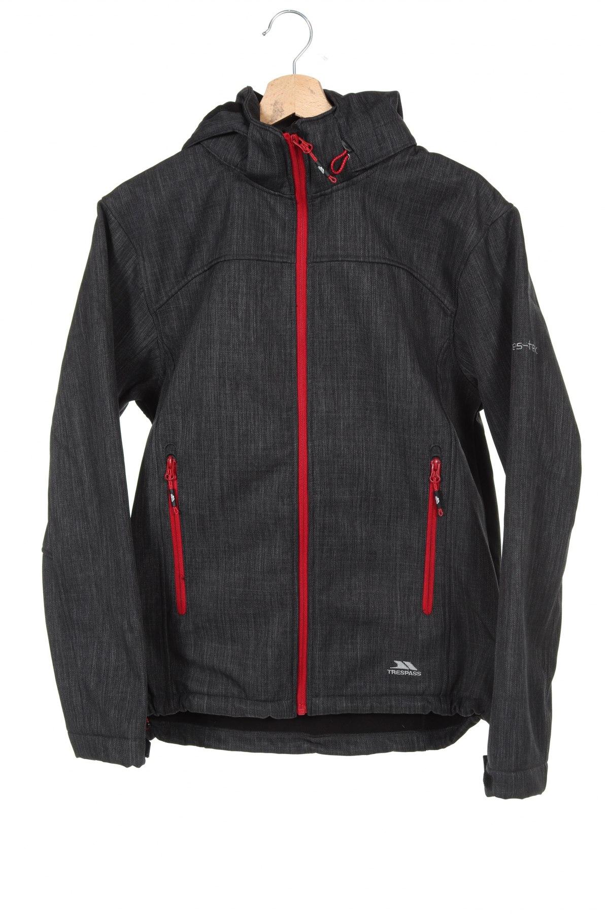 Мъжко спортно яке Trespass, Размер XS, Цвят Сив, Полиестер, Цена 93,96лв.