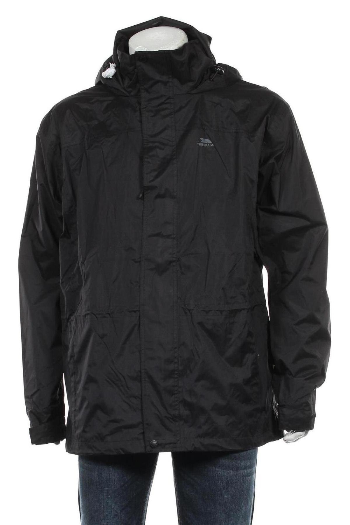 Мъжко спортно яке Trespass, Размер XL, Цвят Черен, Полиестер, Цена 84,00лв.