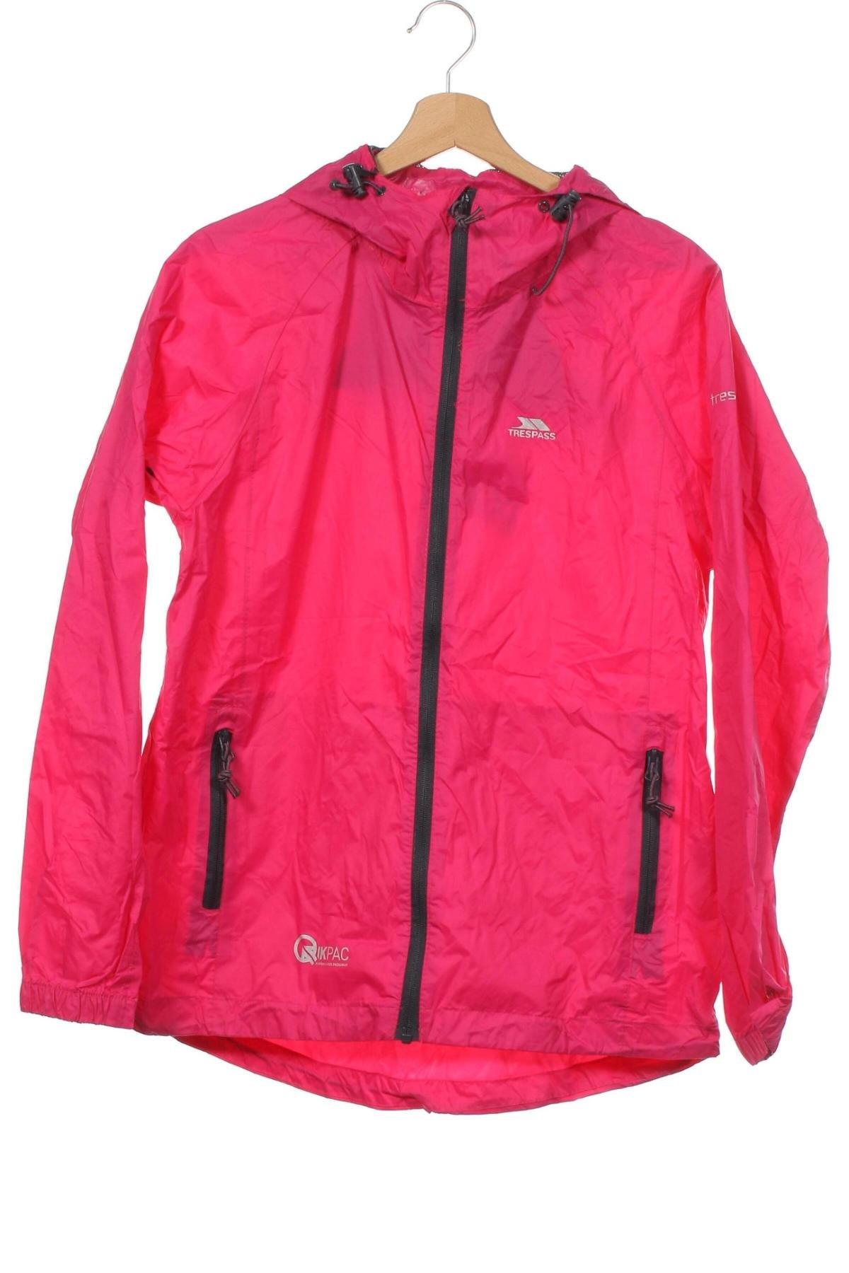 Мъжко спортно яке Trespass, Размер XS, Цвят Розов, Полиамид, Цена 61,60лв.