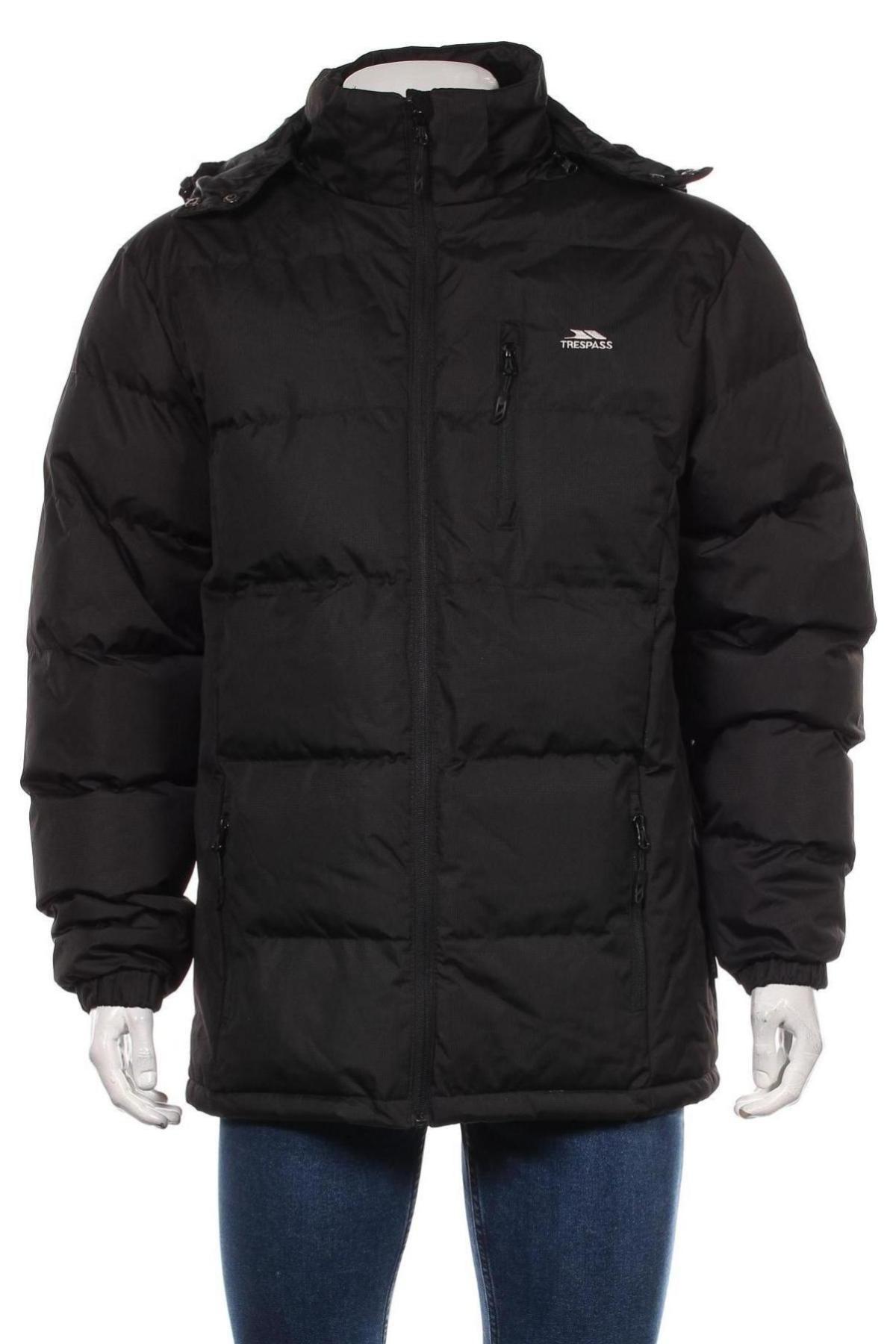 Мъжко яке Trespass, Размер M, Цвят Черен, Полиестер, Цена 105,30лв.