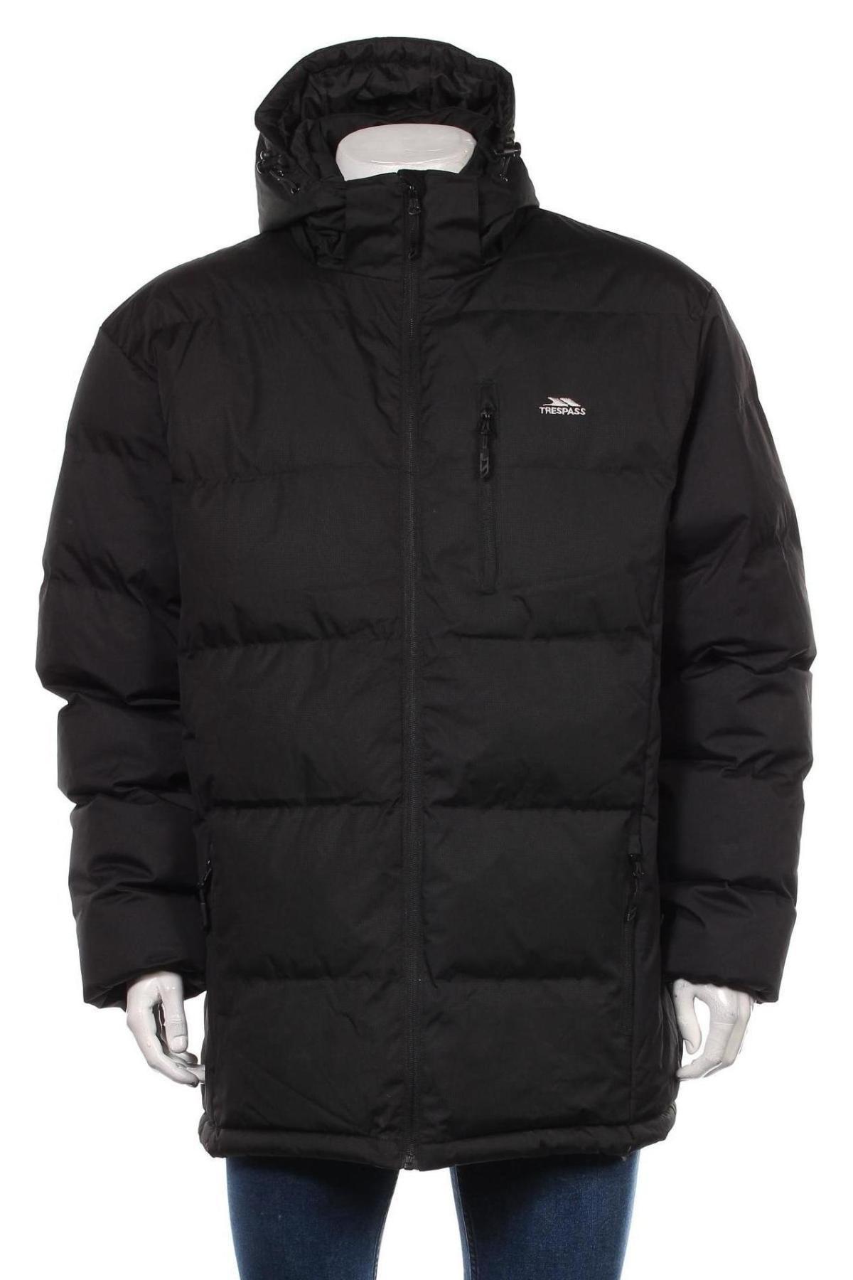 Мъжко яке Trespass, Размер XL, Цвят Черен, Полиестер, Цена 105,30лв.