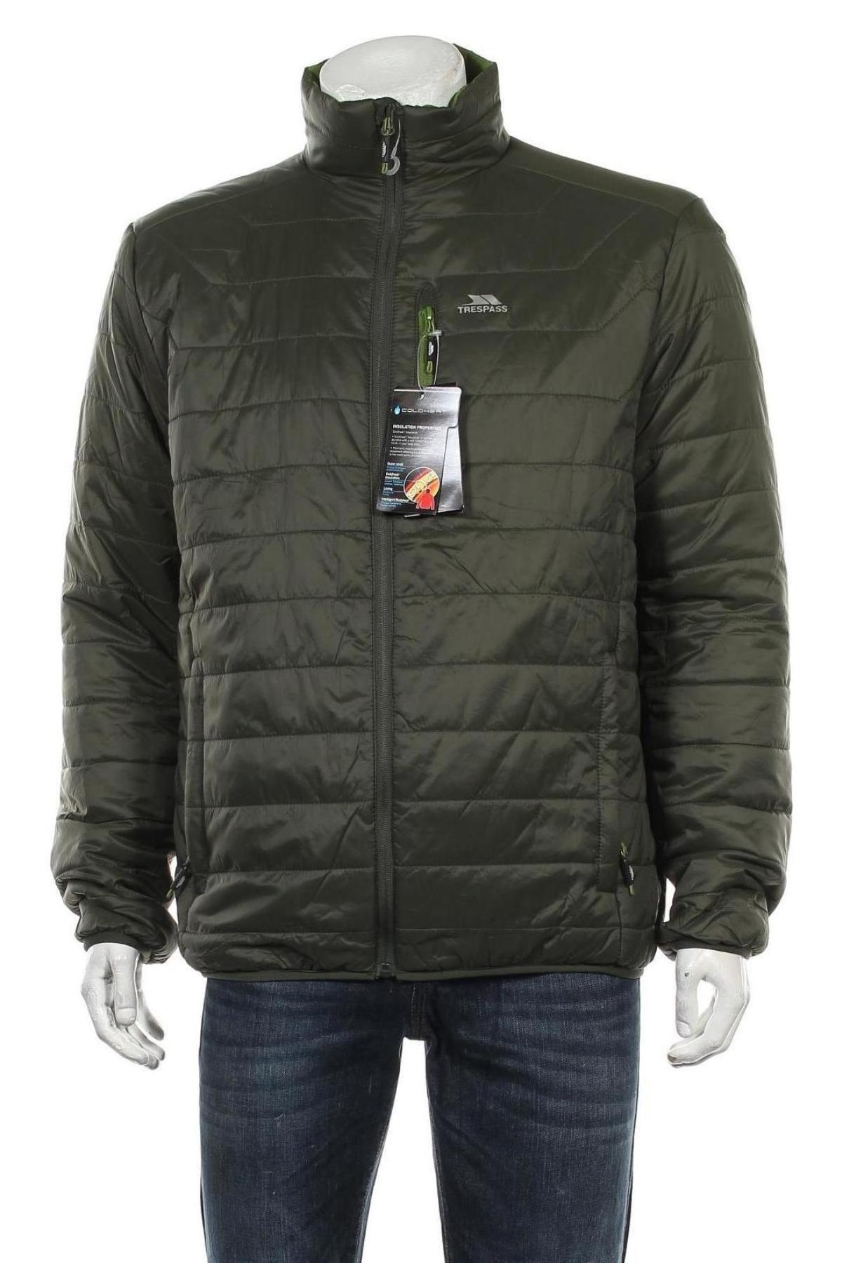 Мъжко яке Trespass, Размер L, Цвят Зелен, Полиамид, Цена 86,42лв.