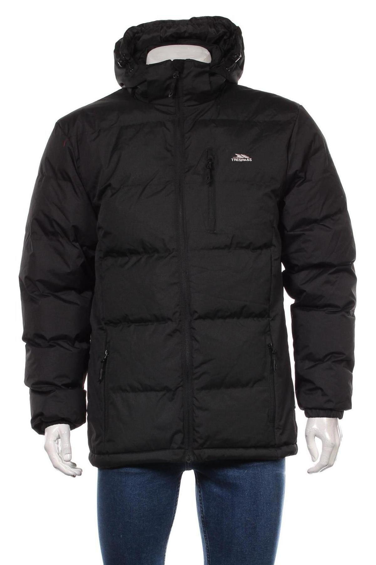 Мъжко яке Trespass, Размер S, Цвят Черен, Полиестер, Цена 129,00лв.