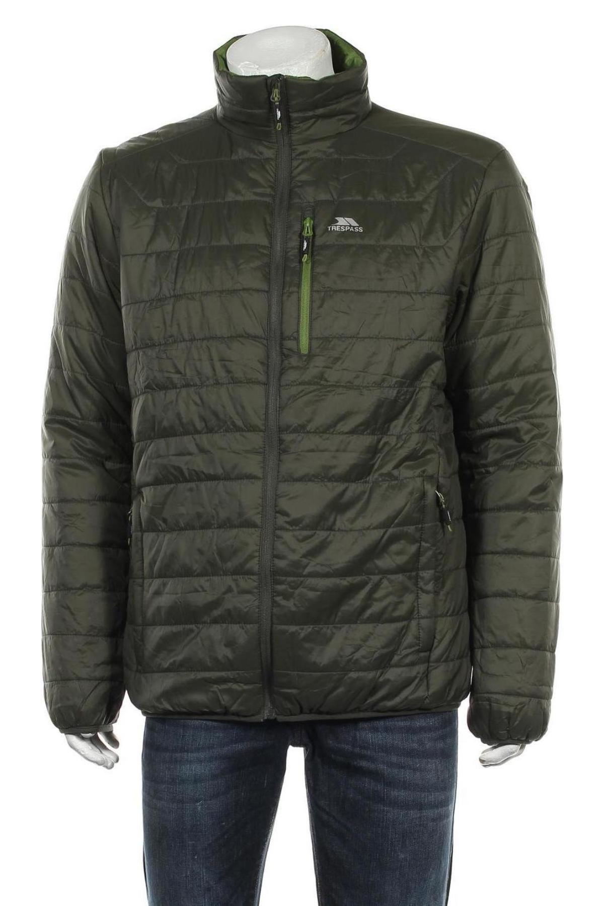 Мъжко яке Trespass, Размер XL, Цвят Зелен, Полиамид, Цена 75,26лв.