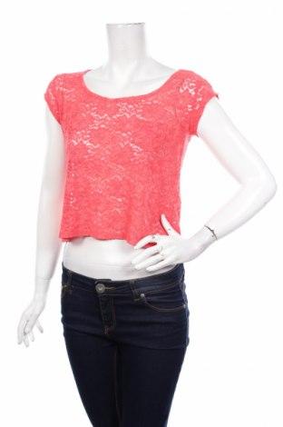 Дамска блуза Ambiance Apparel, Размер M, Цвят Розов, 50% полиамид, 40% вискоза, 10% еластан, Цена 3,92лв.