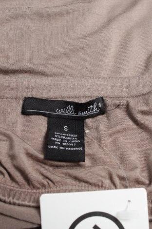 Дамски потник Willi Smith, Размер S, Цвят Сив, 95% вискоза, 5% еластан, Цена 5,55лв.
