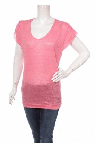 Дамска блуза Cache Cache, Размер M, Цвят Розов, Лен, Цена 13,30лв.