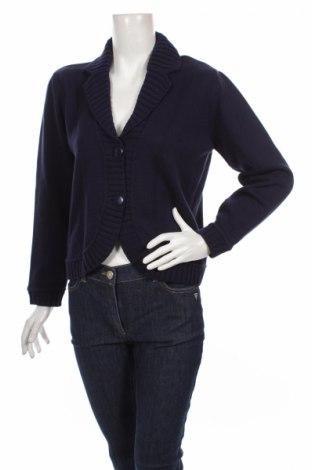 Дамска жилетка Best Of Basic, Размер XL, Цвят Син, 50% памук, 50% акрил, Цена 49,00лв.