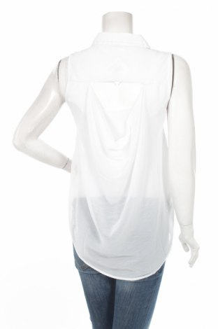 Дамска риза Moodo, Размер S, Цвят Бял, Полиестер, Цена 16,96лв.