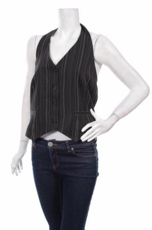 Дамски елек Laura Scott, Размер L, Цвят Черен, 97% полиестер, 3% еластан, Цена 10,81лв.