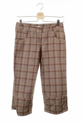 Дамски панталон Alia, Размер S, Цвят Кафяв, Памук, Цена 6,40лв.