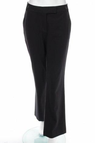 Дамски панталон H&M, Размер M, Цвят Черен, 65% полиестер, 33% вискоза, 2% еластан, Цена 9,58лв.