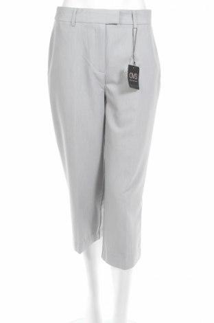 Дамски панталон Oviesse, Размер M, Цвят Сив, 75% полиестер, 19% вискоза, 6% еластан, Цена 11,80лв.
