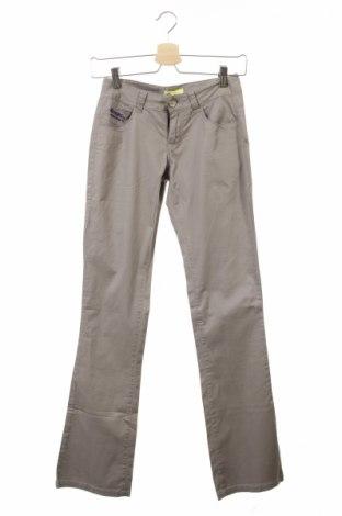 Дамски панталон Troll, Размер XXS, Цвят Сив, 97% памук, 3% еластан, Цена 8,61лв.