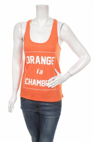 Дамски потник Cache Cache, Размер XS, Цвят Оранжев, 67% полиестер, 33% вискоза, Цена 10,56лв.