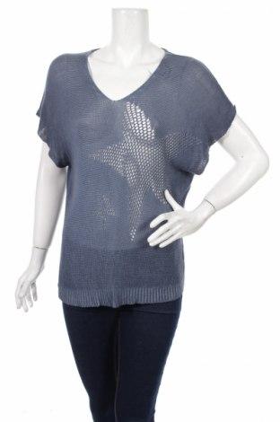 Γυναικείο πουλόβερ, Μέγεθος L, Χρώμα Μπλέ, Βισκόζη, ελαστάνη, Τιμή 6,12€