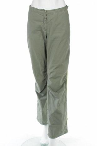 Дамски спортен панталон H&M L.o.g.g, Размер L, Цвят Зелен, Памук, Цена 37,40лв.