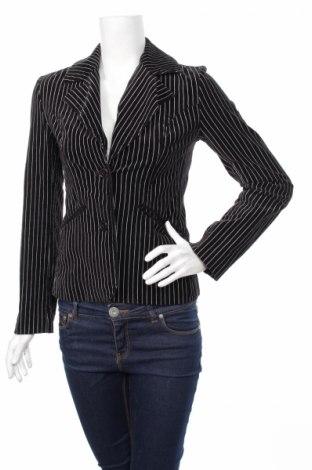 Дамско сако H&M Divided, Размер S, Цвят Черен, 96% памук, 2% полиестер, 2% еластан, Цена 9,00лв.