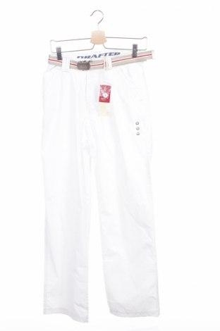 Мъжки спортен панталон Drafter, Размер S, Цвят Бял, 65% полиестер, 35% памук, Цена 13,00лв.