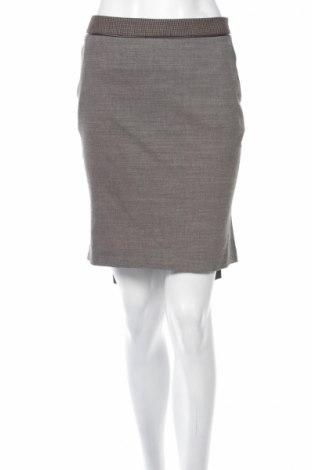 Φούστα Anna Biagini, Μέγεθος M, Χρώμα Καφέ, 53% βισκόζη, 30% πολυεστέρας, 15% μαλλί, 2% ελαστάνη, Τιμή 4,33€