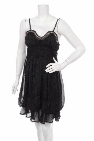 Рокля Alta Qualita, Размер M, Цвят Черен, 100% полиестер, Цена 14,50лв.