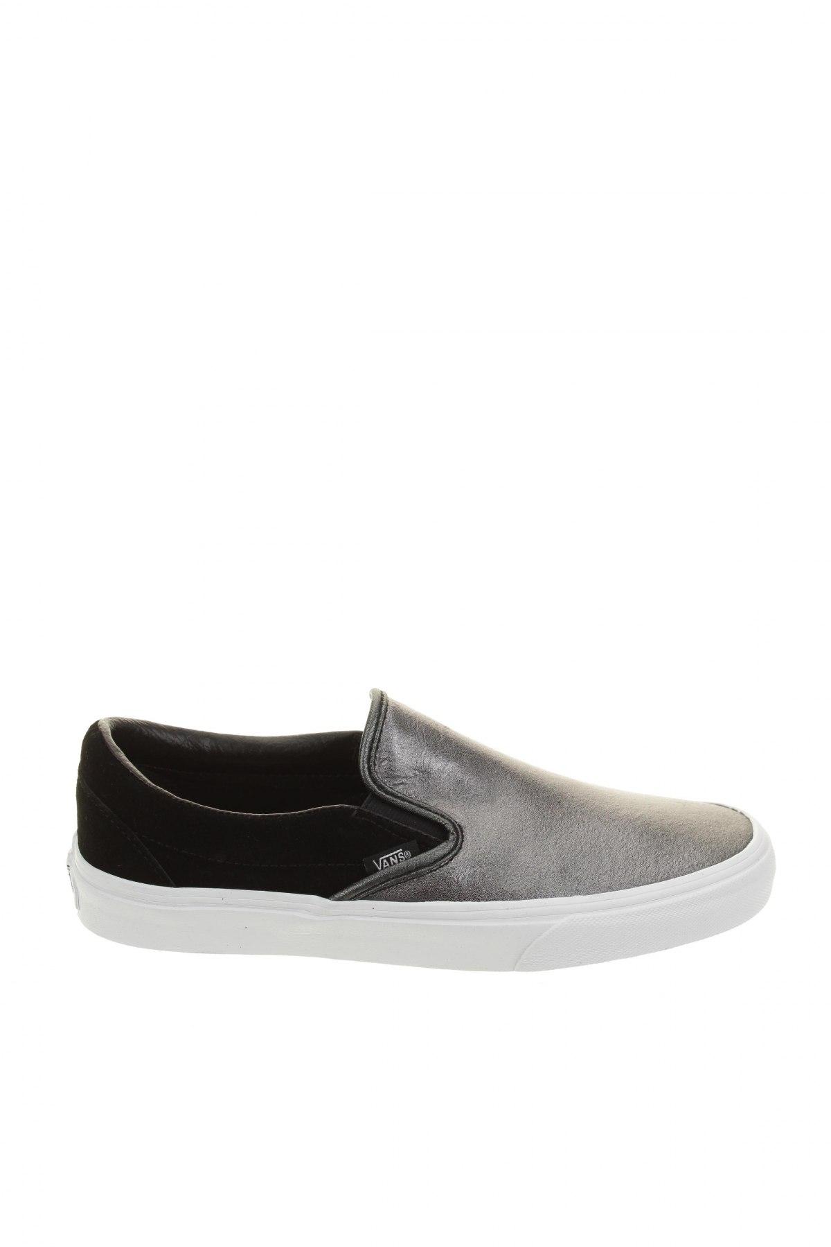 Обувки Vans, Размер 40, Цвят Черен, Естествен велур, естествена кожа, Цена 91,65лв.