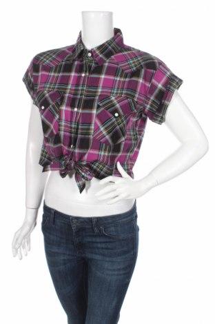 Дамска риза Ltb, Размер L, Цвят Лилав, Памук, Цена 11,82лв.