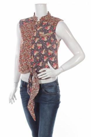 Дамска риза Wiya, Размер S, Цвят Многоцветен, Памук, Цена 6,50лв.