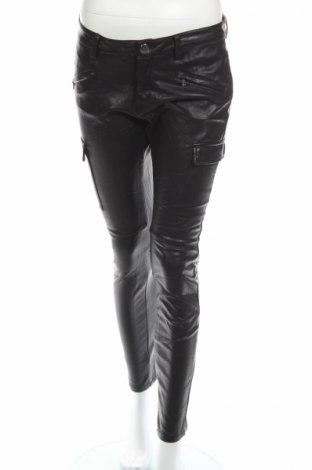 Дамски кожен панталон H&M