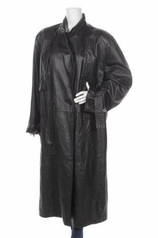 Dámsky kožený prechodný kabát