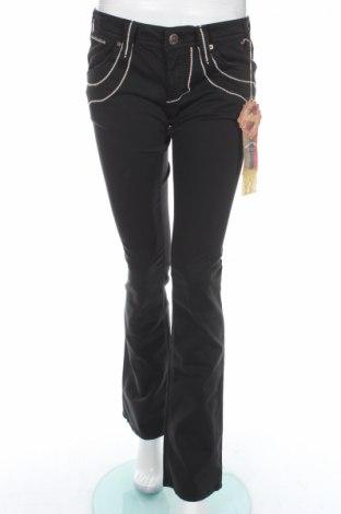 Дамски панталон Bandits Du Monde, Размер M, Цвят Черен, 97% памук, 3% еластан, Цена 30,68лв.
