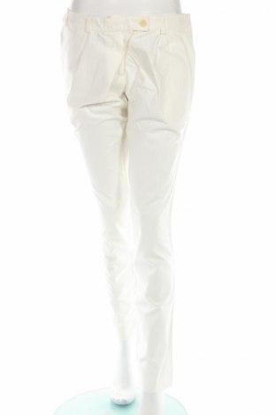 Дамски панталон Bolongaro Trevor, Размер S, Цвят Бял, 100% памук, Цена 37,68лв.