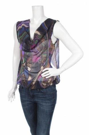 Γυναικείο αμάνικο μπλουζάκι Amelie & Amelie, Μέγεθος S, Χρώμα Πολύχρωμο, Τιμή 2,84€