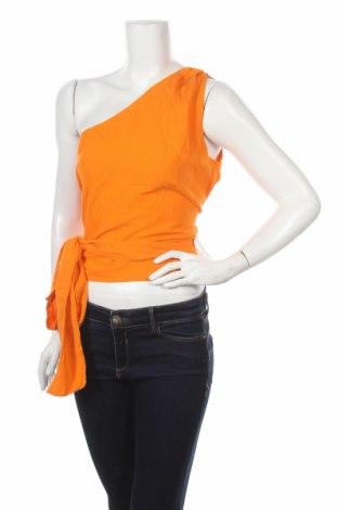 Дамски потник Edited, Размер L, Цвят Оранжев, 60% вискоза, 40% памук, Цена 26,28лв.