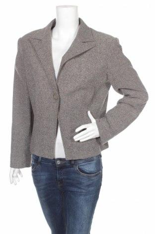 Γυναικείο σακάκι Anna Rossi, Μέγεθος L, Χρώμα Γκρί, 40% πολυεστέρας, 28% πολυαμίδη, 20% μαλλί, 12% άλλα υφάσματα, Τιμή 3,71€
