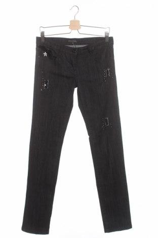 Детски дънки Artigli, Размер 15-18y/ 170-176 см, Цвят Черен, 70% памук, 28% полиестер, 2% еластан, Цена 31,50лв.