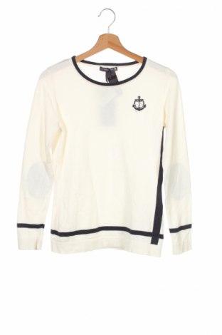 Детски пуловер Giorgio Di Mare, Размер 11-12y/ 152-158 см, Цвят Бял, 100% памук, Цена 35,10лв.