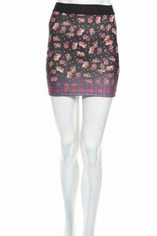 Пола Zara Trafaluc, Размер S, Цвят Многоцветен, 96% полиестер, 4% еластан, Цена 12,56лв.