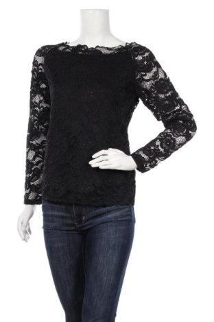 Дамска блуза, Размер M, Цвят Черен, 90% полиамид, 10% еластан, Цена 8,13лв.