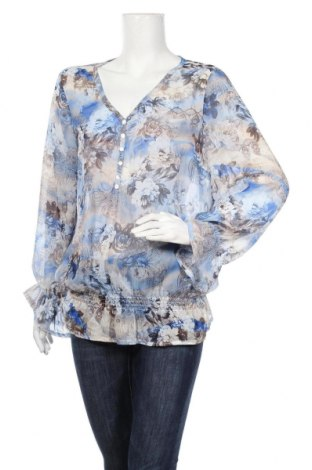 Дамска блуза Adagio, Размер L, Цвят Многоцветен, Полиестер, Цена 8,40лв.
